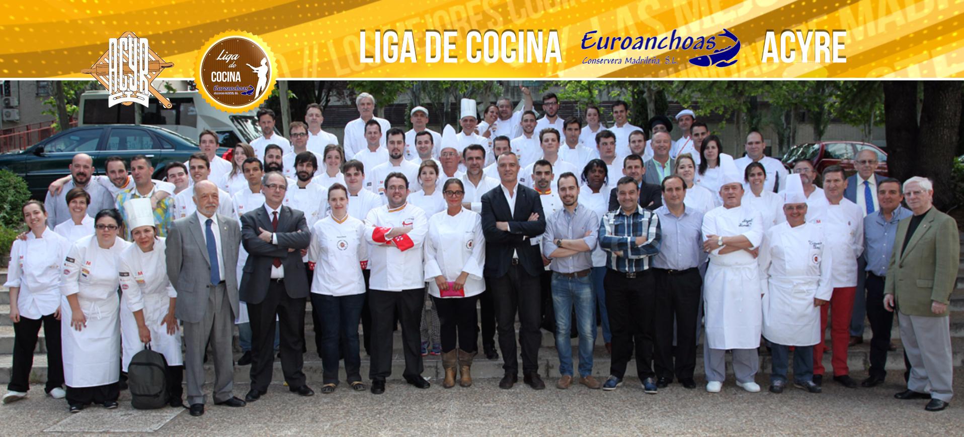 Liga de Cocina Euroanchoas campeonato 2015