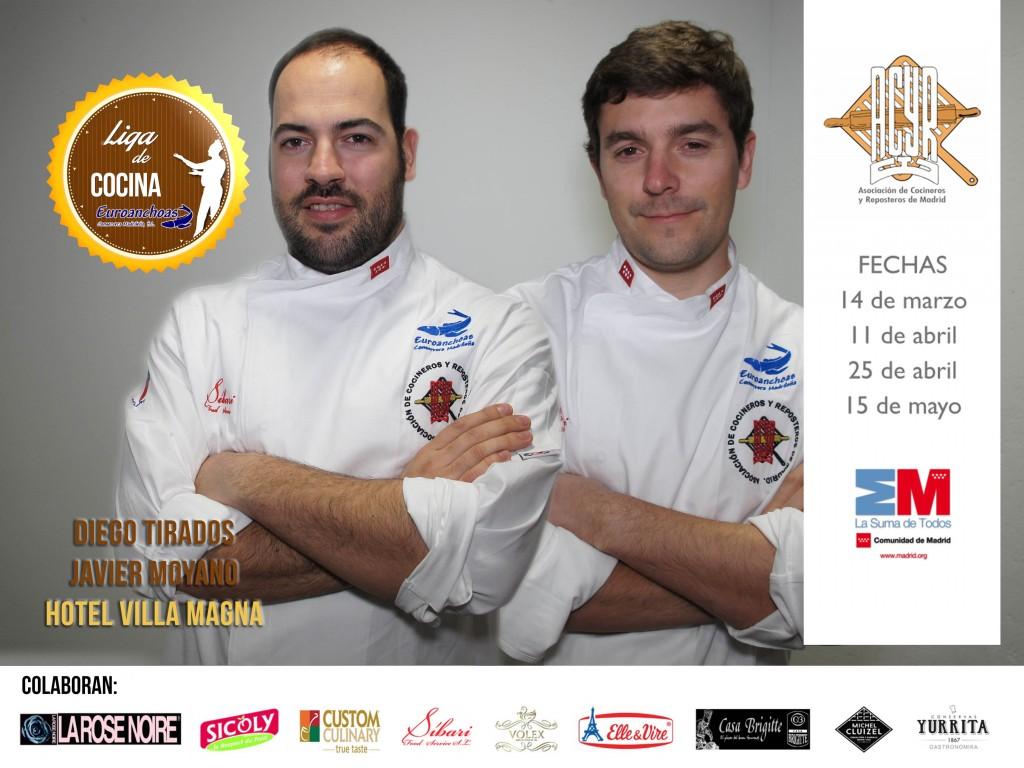 Campeones Liga de Cocina