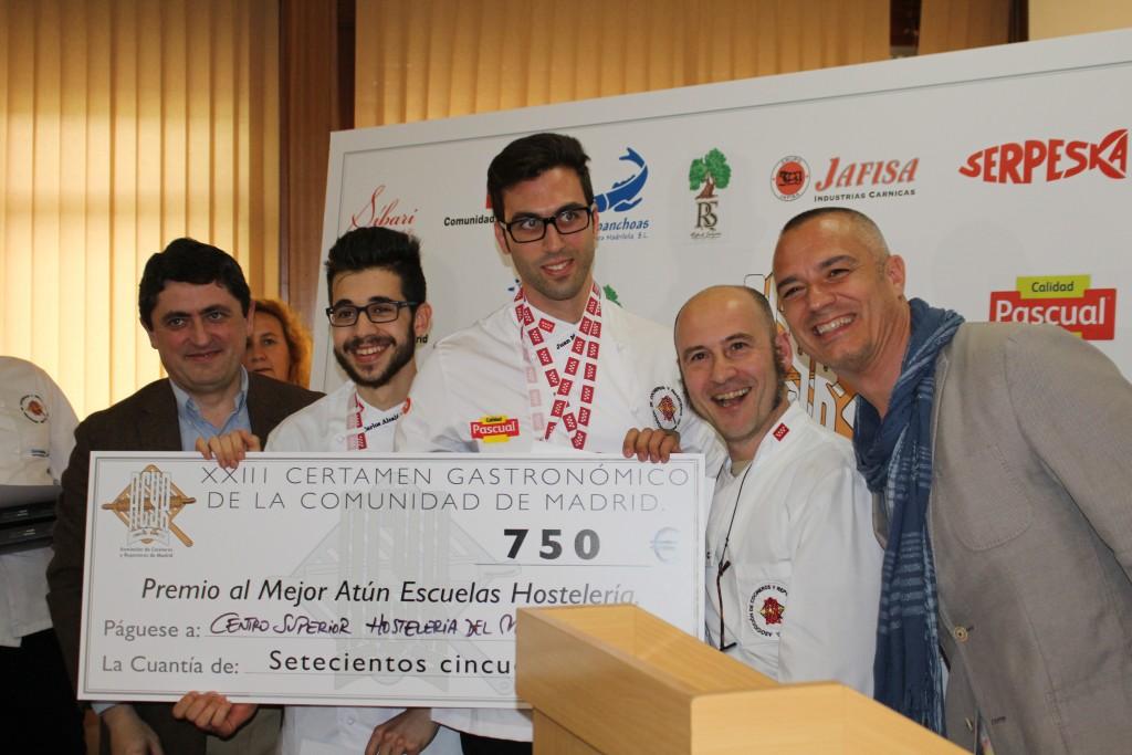 Premio Mejor Plato de Atún de Escuelas: Centro Superior de Hostelería del Mediterráneo