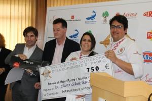 Premio Mejor Postre de Escuela: Escuela Superior de Hostelería y Turismo Madrid